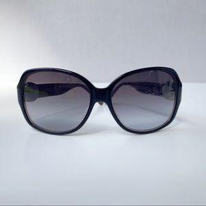 Coach sunglasses & case black